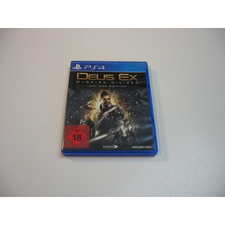 Deus Ex Mankind Divided Day One Edition - GRA Ps4 - Opole 0828