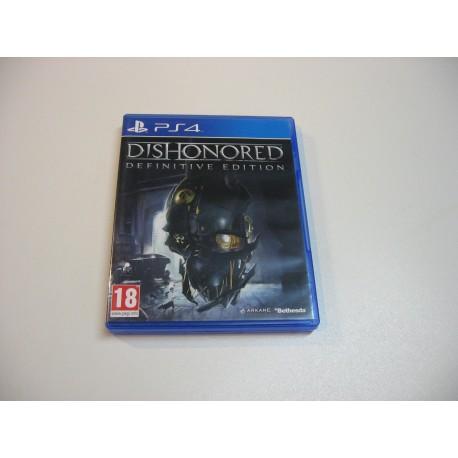 Dishonored Definitive Edition - GRA Ps4 - Opole 0834