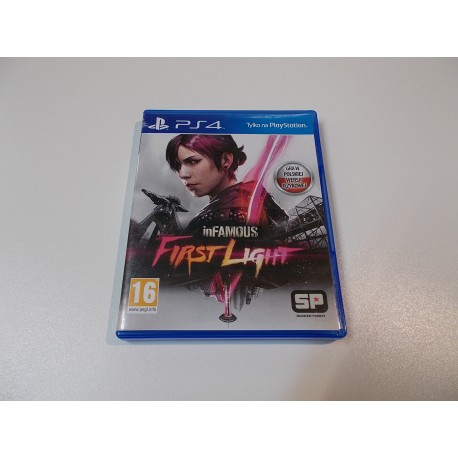 "InFamous First Light - GRA Ps4 - Sklep ""ALFA"" Opole 355"