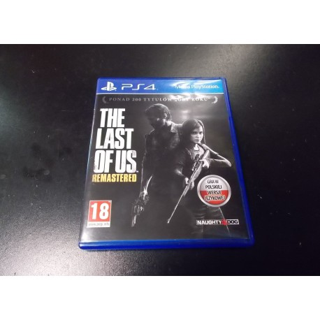 The Last of Us Remastered PL - GRA Ps4 Opole 0242